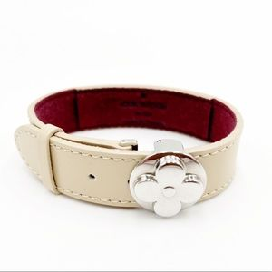 Louis Vuitton Good Luck Fleur Monogram Bracelet Cuff